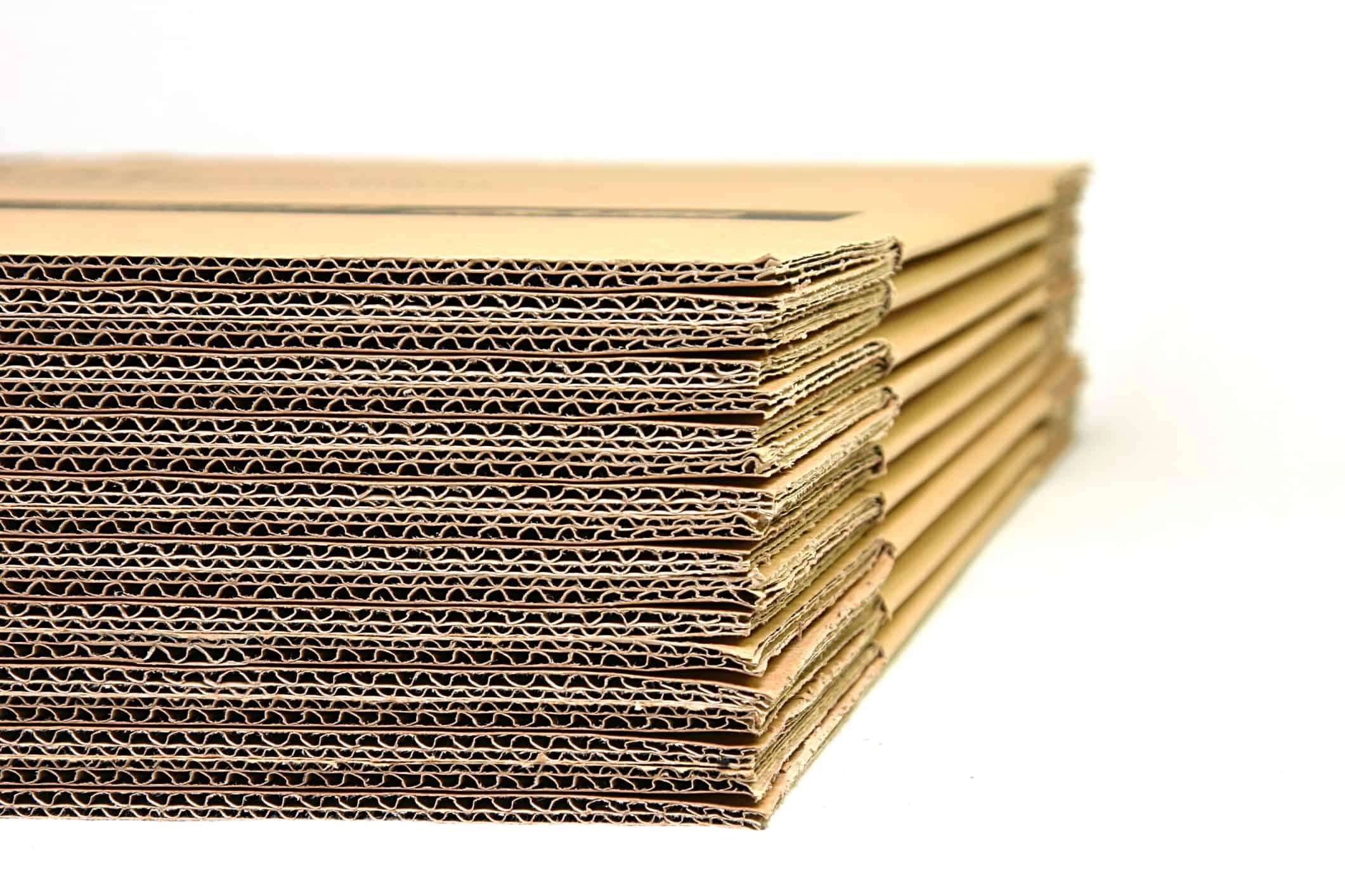 flatpack cardboard boxes