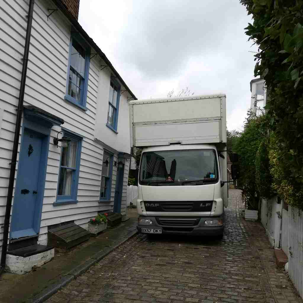 Removal Lorry Parking