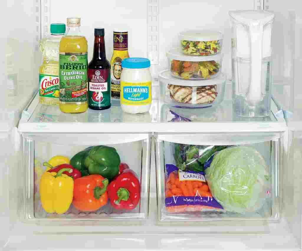 empty your fridge contents